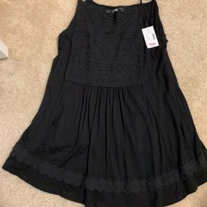 Black embroidered take by Maurices